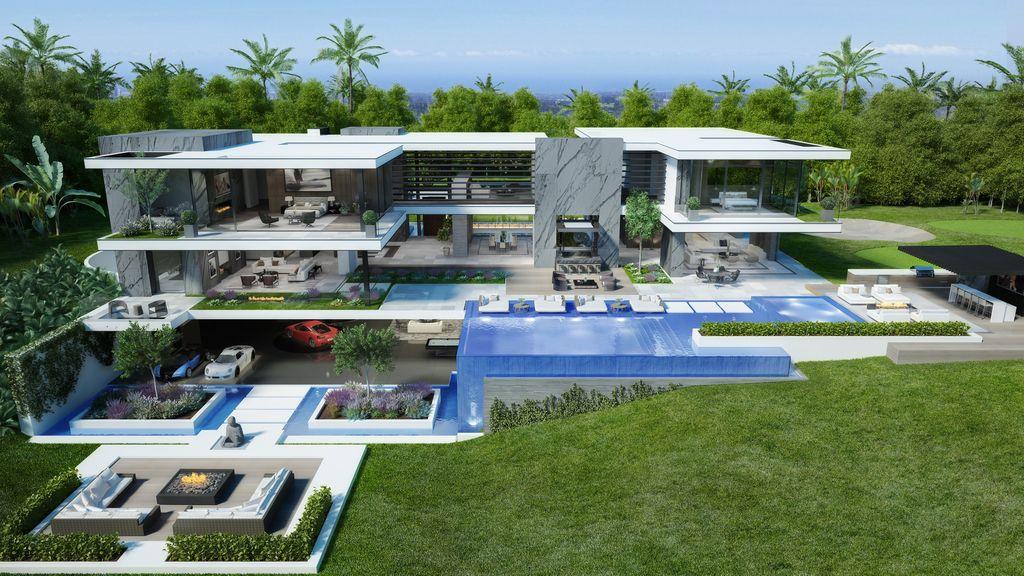 Masterful Design Concept of Lavish Bel Air Mansion by CLR Design Group