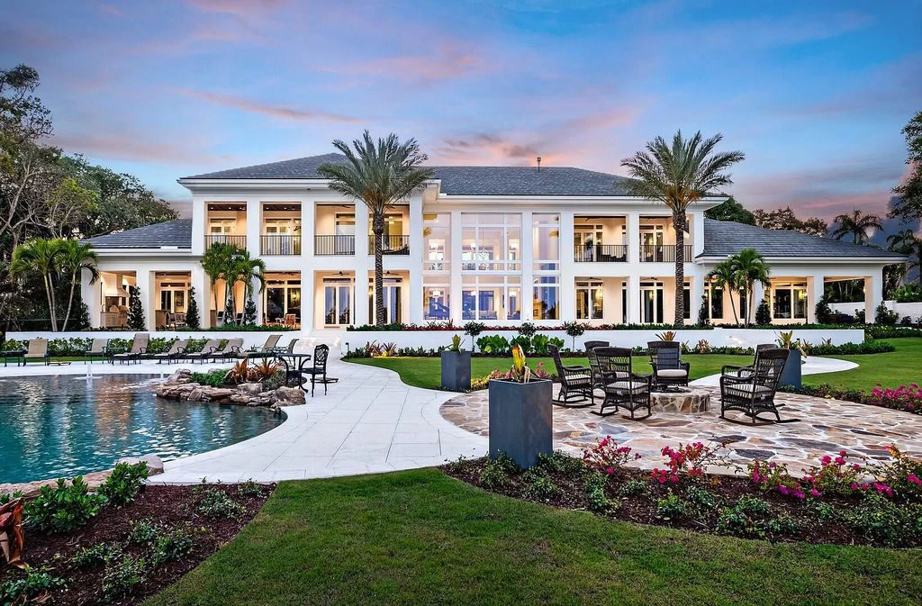 A Magnificent Stuart Home Resting Majestically on 2.4 Acres for Sale at $11,750,000