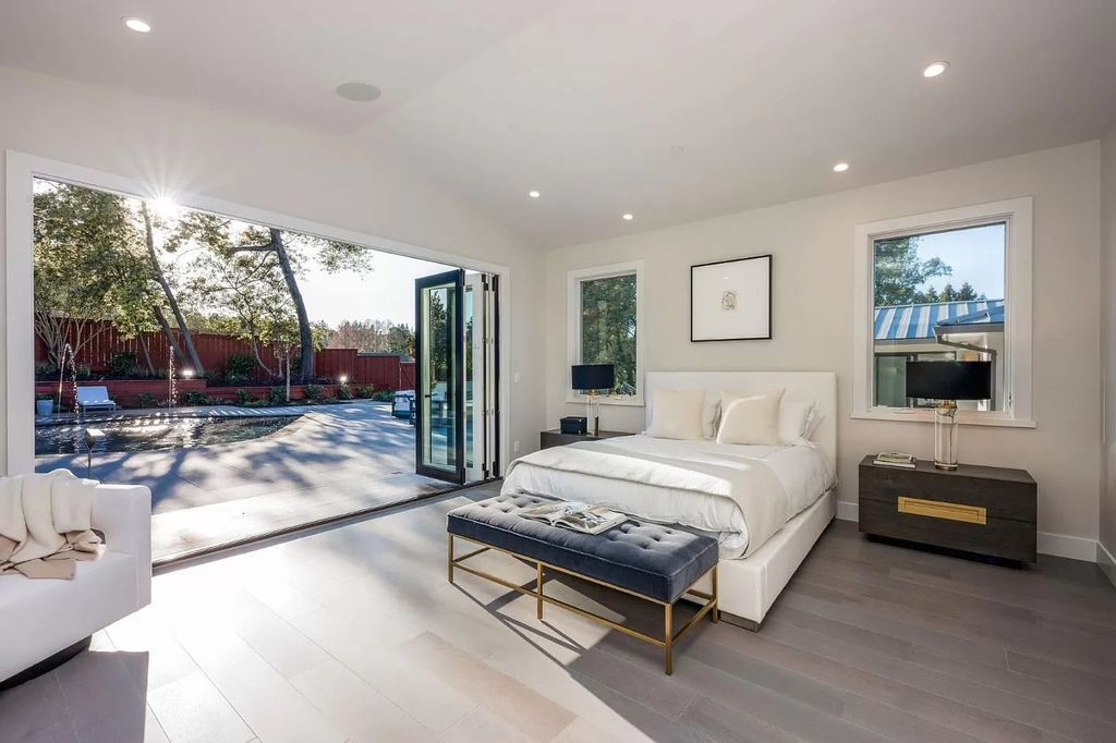 The California Home is one-of-a-kind compound that has been meticulously rebuilt from the ground up now available for sale. This home located at 38 Tevis Pl, Burlingame, California; offering 5 bedrooms and 4 bathrooms with over 4,000 square feet of living spaces.