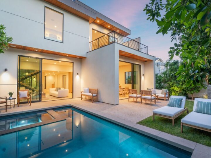 The Architectural Home is a the ultimate compound West Hollywood with timeless neutral interior design now available for sale. This home located at 8737 Ashcroft Ave, West Hollywood, California; offering 4 bedrooms and 6 bathrooms with over 5,100 square feet of living spaces.