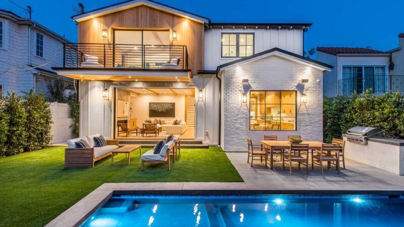 The Coastal Farmhouse is an exceptional new home located just blocks from the Palisades Village with the highest integrity and quality in design & construction now available for sale. This home located at 811 Iliff St, Pacific Palisades, California; offering 6 bedrooms and 8 bathrooms with over 6,400 square feet of living spaces.