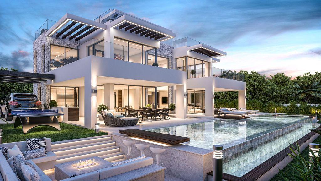 Conceptual Design of Villa Origami by B8 Architecture and Design Studio