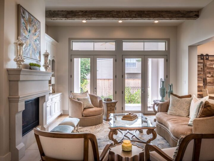 Deluxe Interior Design of Bellaire Beauty by The Design Firm