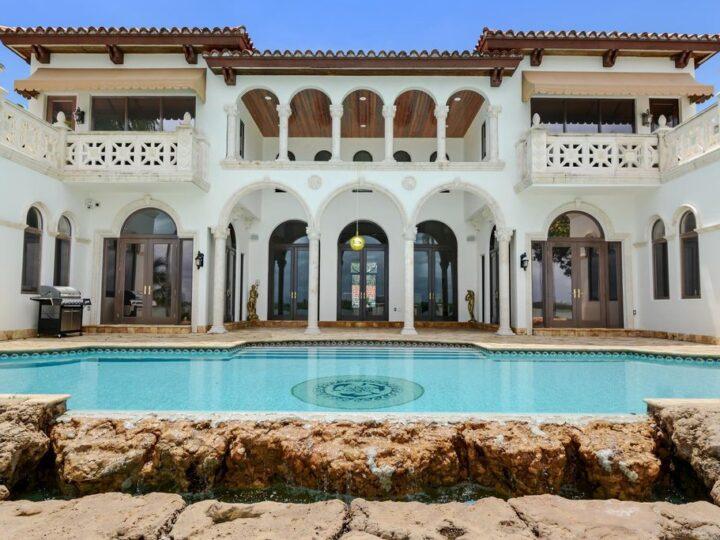 Exclusive Mediterranean Architecture in Bal Harbour, Florida