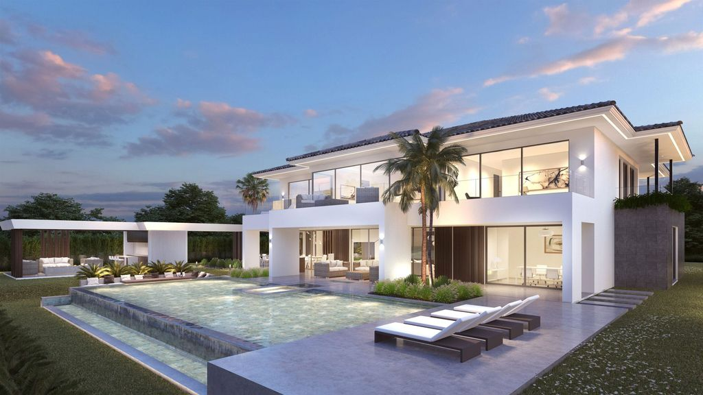 Concept Design of Villa Castilla is a project located in Malaga, Spain was designed in conceptual stage by B8 Architecture and Design Studio in Modern style; it offers luxurious modern living.