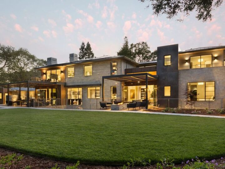 Extraordinary Modern home in Atherton built by Owen Signature Homes