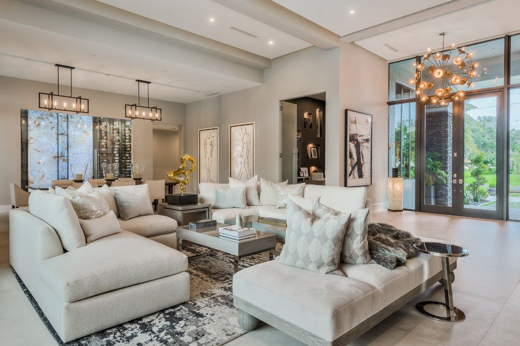 Sophisticated Interiors of 120 Model Boca Raton by Clive Daniel Home