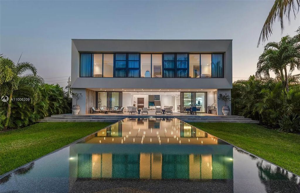 Incredible New Construction Waterfront Home in Miami Beach Selling for $9,950,000
