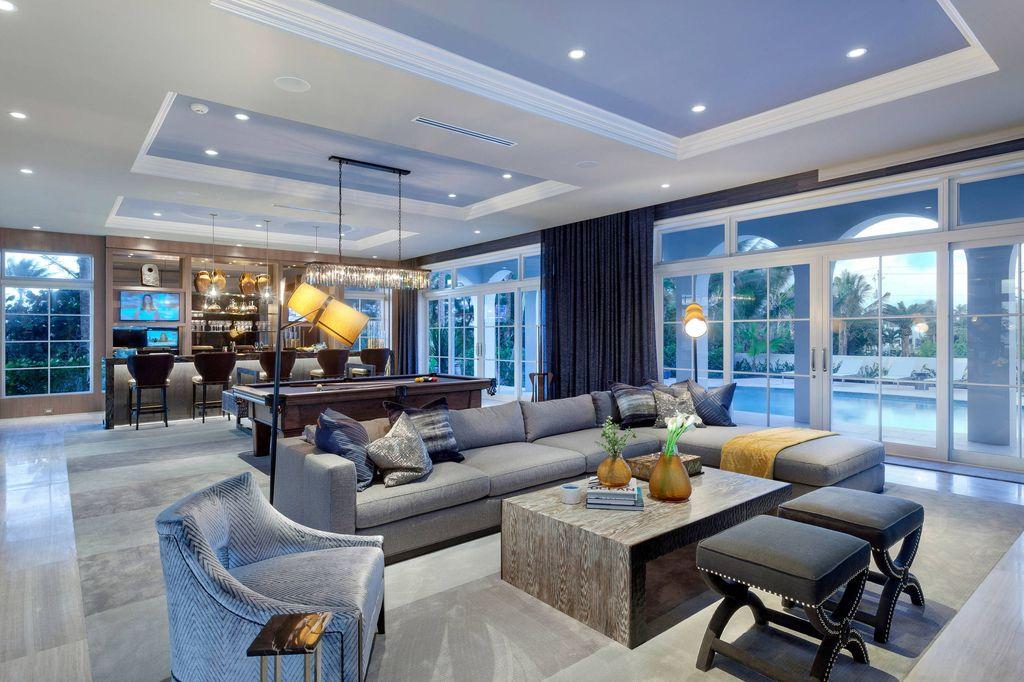 Luxury contemporary Villa Oceano Azul by Marc-Michaels Interior Design