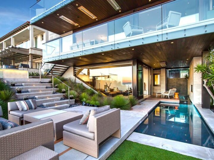 Newly Built Modern House in Dana Point with over stunning views