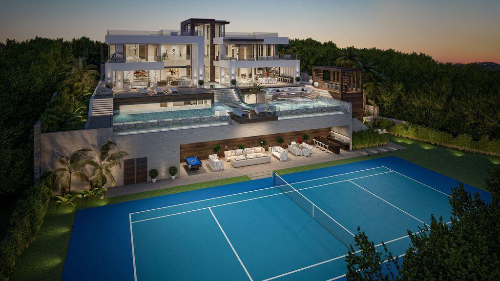 Sleek Concept Design of Villa La Cerquilla 37 in Spain by B8 Architecture and Design Studio