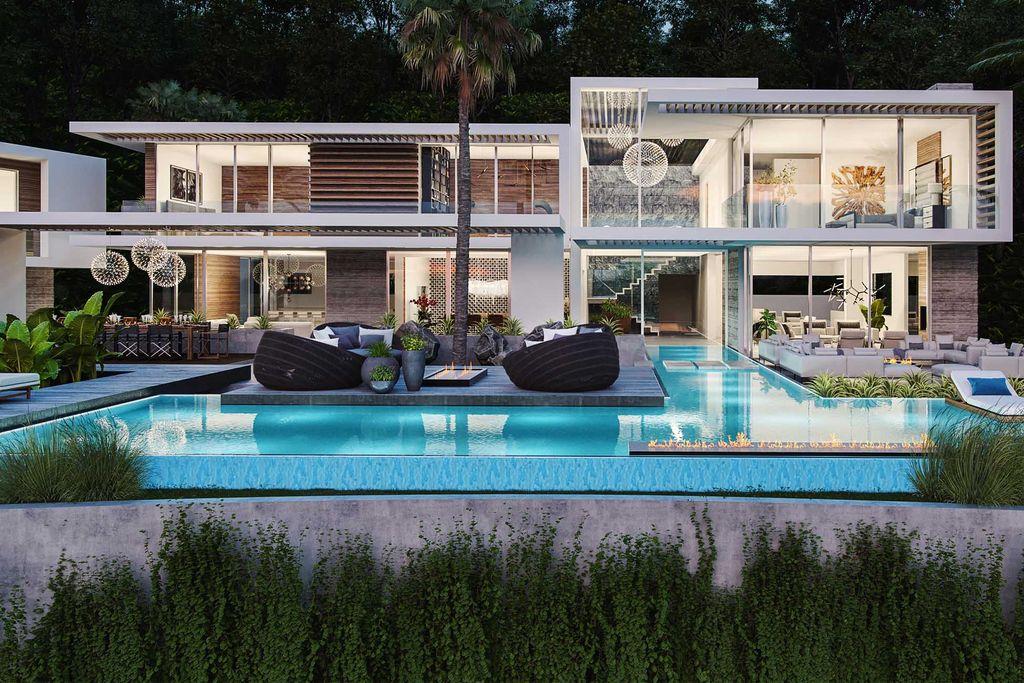 Superlative Haslam Home Concept in Los Angeles by David Hiller Studio
