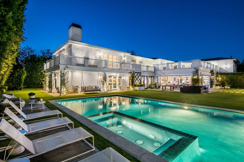 This $11,495,000 Breathtaking Encino Estate offers the Quintessential California Living
