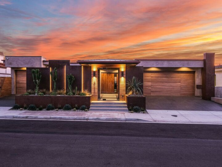 The California Contemporary Home is a luxuriously newly constructed residence with panoramic vistas of Newport Harbor now available for sale. This home located at 1215 Dolphin Ter, Corona Del Mar, California; offering 6 bedrooms and 8 bathrooms with over 7,200 square feet of living spaces.