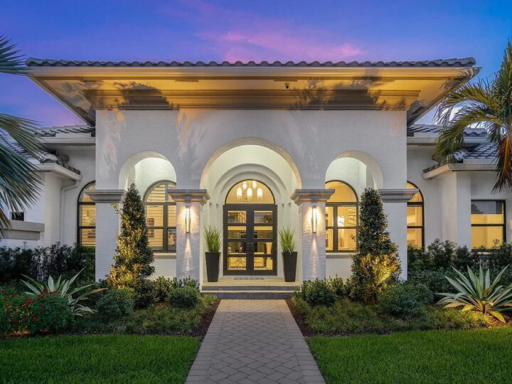 The Home in Delray Beach is an extraordinary family estate on an acre of land with a waterfront lot now available for sale. This home located at 15271 Tall Oak Ave, Delray Beach, Florida; offering 4 bedrooms and 4 bathrooms with over 4,300 square feet of living spaces.