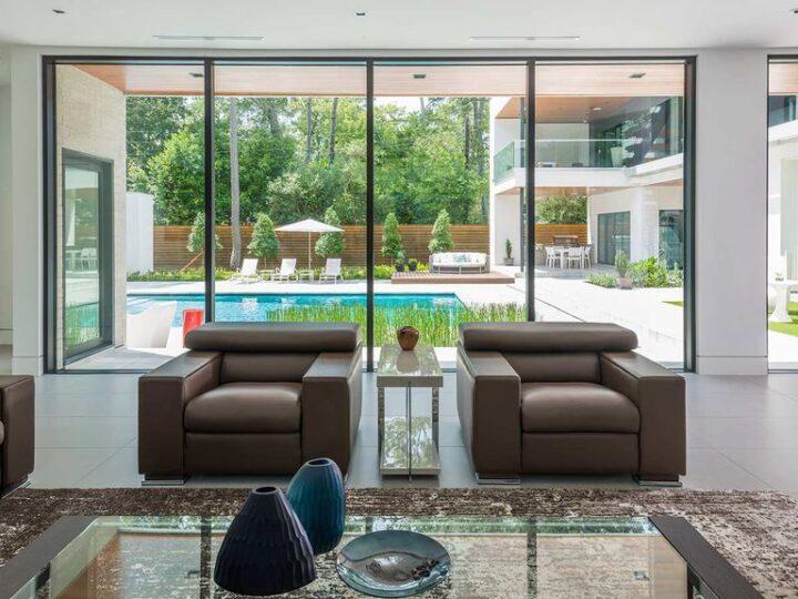 A Modern Smart House's interior ideas