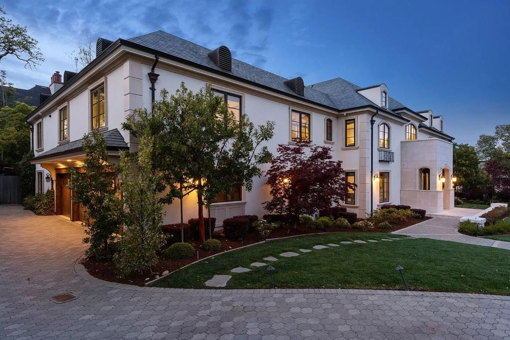 The French Chateau Style Home in Hillsborough was extensively updated with exquisite finishes and refined millwork now available for sale. This home located at 138 Stonepine Rd, Hillsborough, California; offering 6 bedrooms and 6 bathrooms with over 6,000 square feet of living spaces.