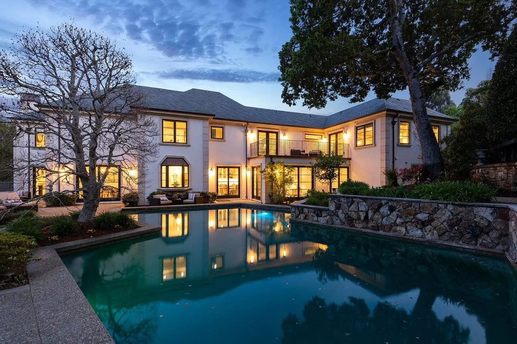 Dramatically Modern French Chateau Style Home in Hillsborough listed for $8,788,000