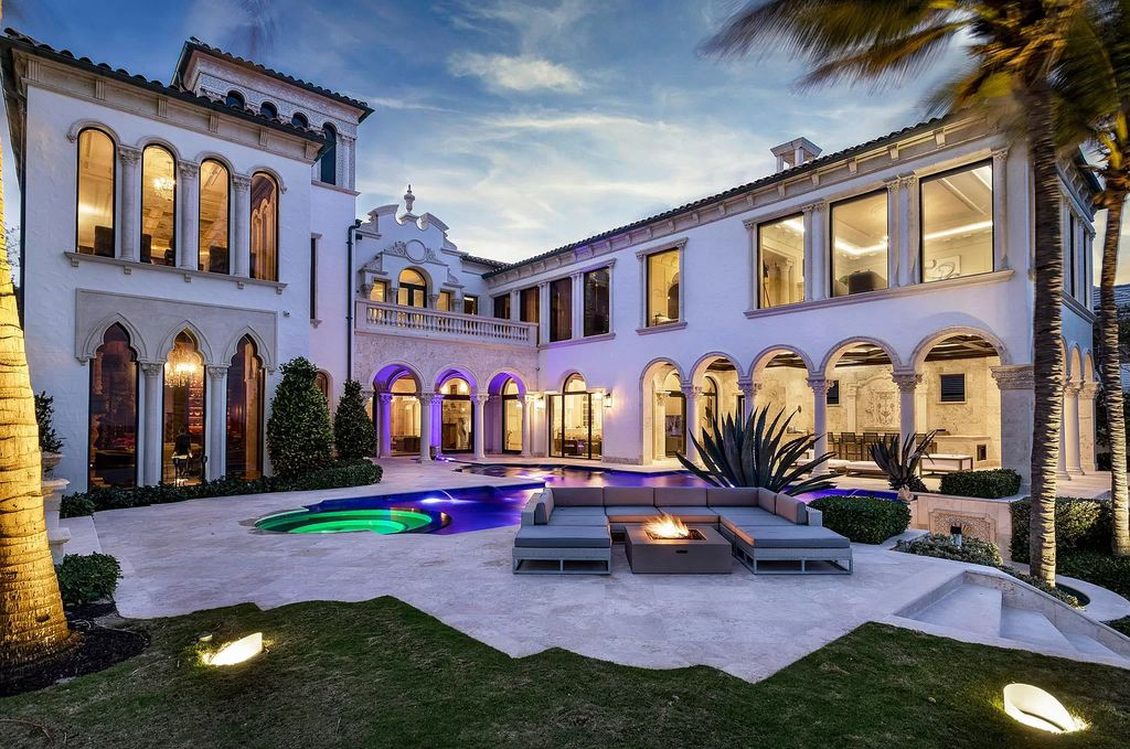 A Palazzo-inspired Ultra Luxury Mansion in Delray Beach asking for $59,995,000