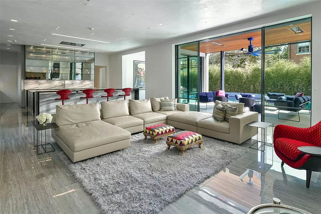 The Modern Home in Dallas is a masterpiece on one of the most desirable blocks built with the latest in residential technology now available for sale. This home located at 3620 Princeton Ave, Dallas, Texas; offering 4 bedrooms and 7 bathrooms with over 9,000 square feet of living spaces.