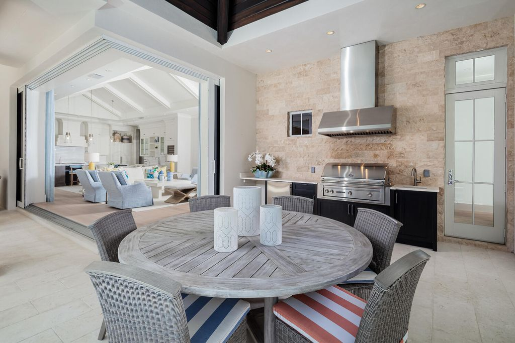 The Naples Home is a spectacular residence offers West Indies-styled architecture offers multiple entertaining areas now available for sale. This home located at 1582 Crayton Rd, Naples, Florida; offering 5 bedrooms and 5 bathrooms with over 5,100 square feet of living spaces.