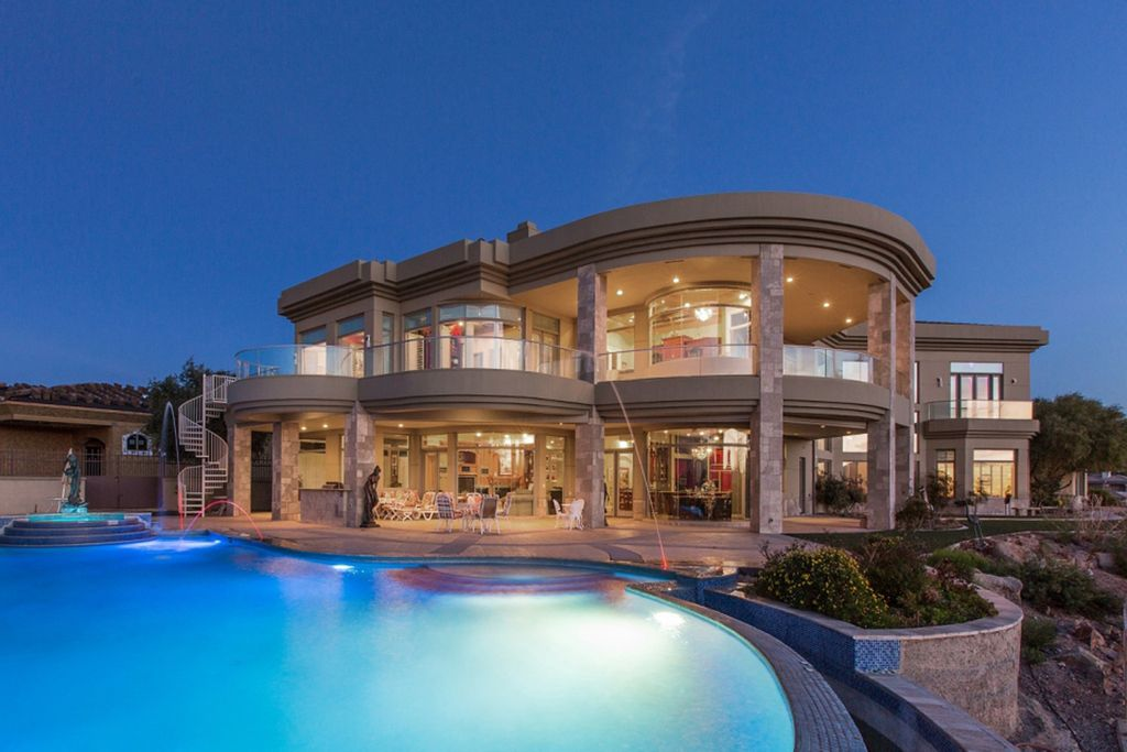 A Trophy Property in Henderson is Palace in the Sky asking for $12,500,000