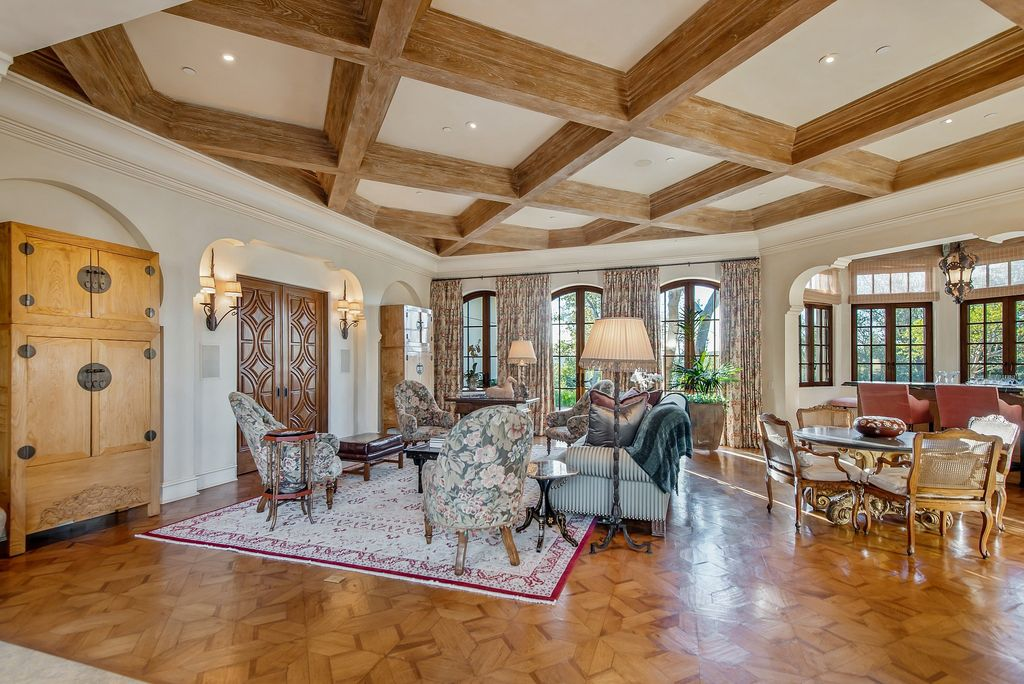 The World Class Italian Villa in Westlake Village is the absolute crown jewel of guard gated North Ranch Country Club Estates now available for sale. This home located at 4994 Summit View Dr, Westlake Village, California; offering 4 bedrooms and 11 bathrooms with over 17,000 square feet of living spaces.