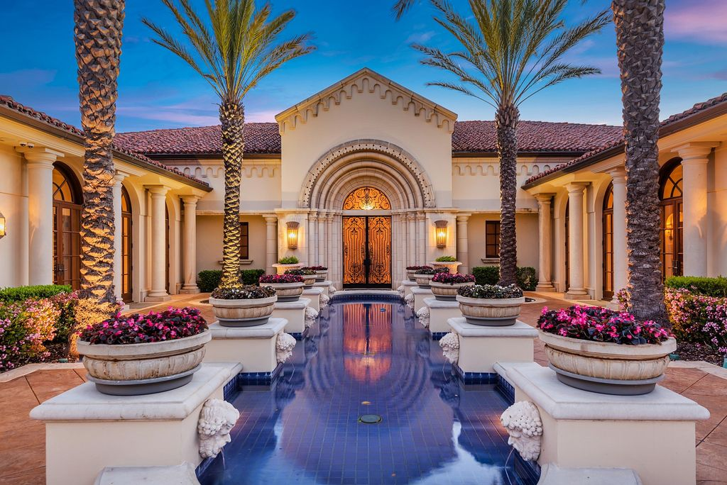 A World Class Italian Villa in Westlake Village listed for $19,950,000