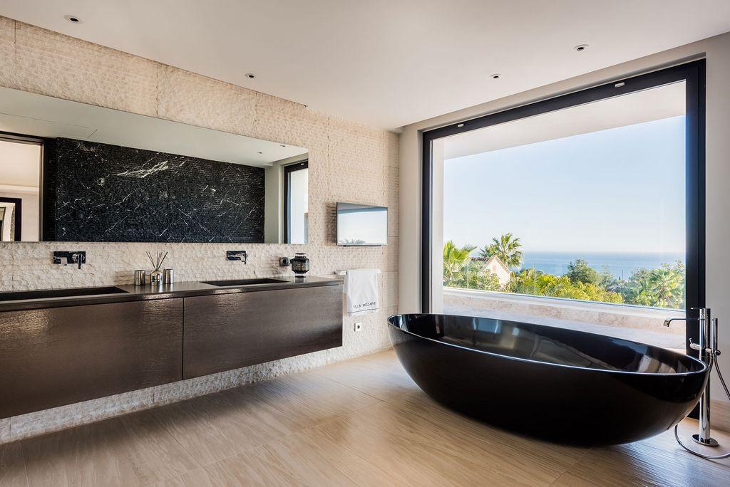 Art Luxury Villa Mozart with Stunning Mediterranean View by Ark architects