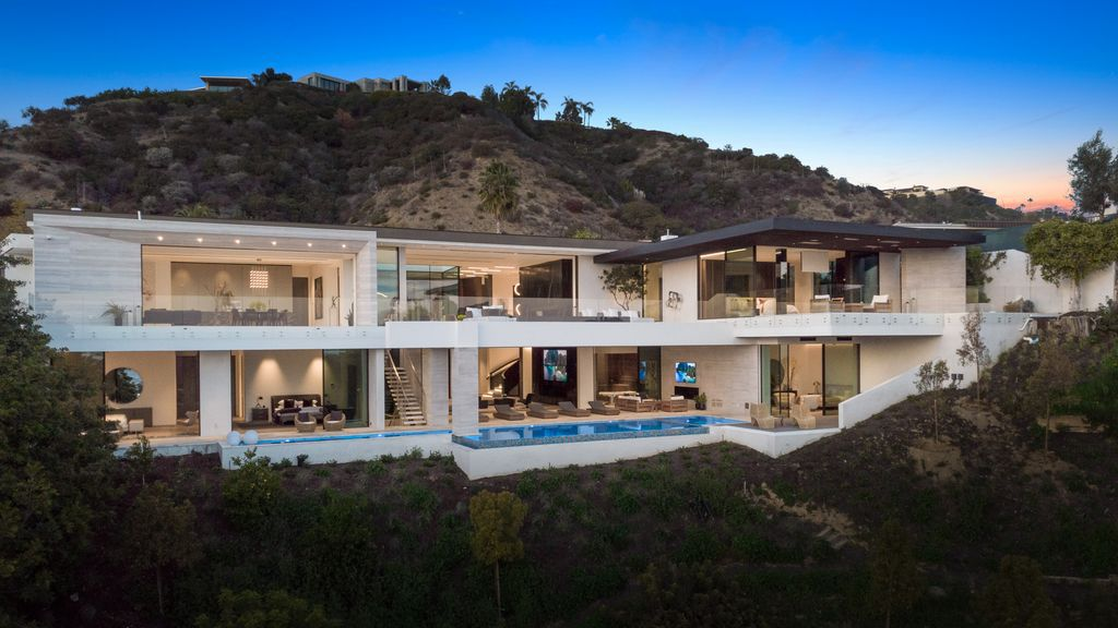 Brand New World Class Beverly Hills Mansion hits Market for $65,000,000
