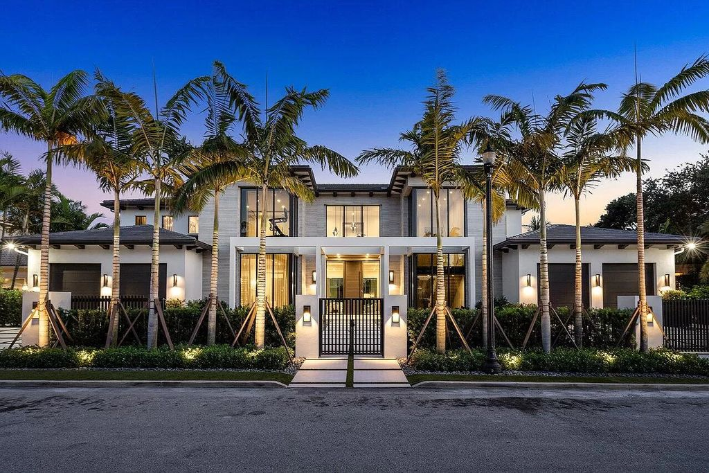 Breathtaking New Construction Home in Boca Raton hits the Market for $25,900,000