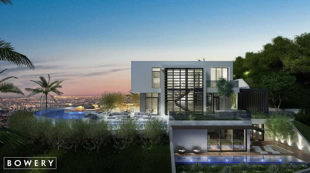 Beverly Hills Mansion Concept is a project in Los Angeles, California was designed in concept stage by Bowery Design Group in Modern style, it offers luxurious modern living.