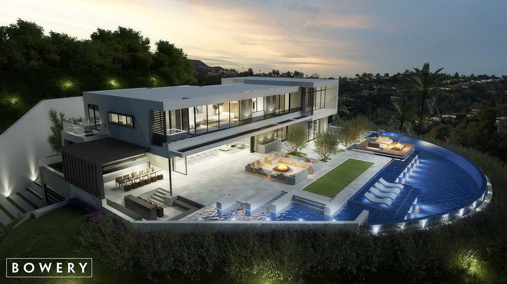 Exceptional Beverly Hills Mansion Concept by Bowery Design Group
