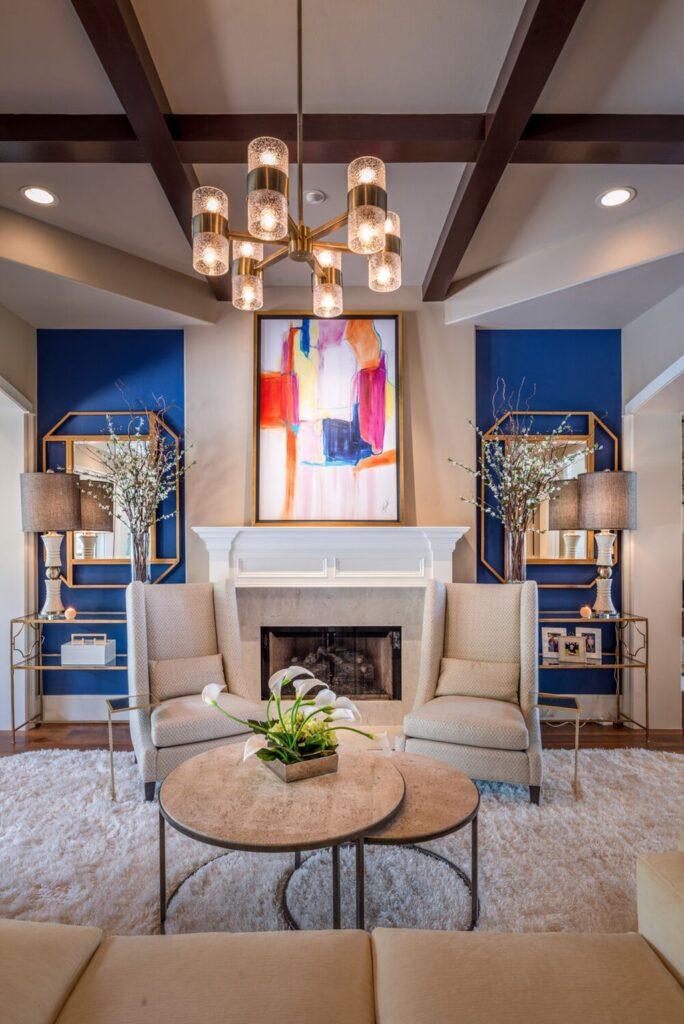 Exciting Interior Design of Casa Cobalt in Texas by The Design Firm