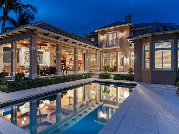 Exquisite Classic Home in Naples designed by Stofft Cooney Architects