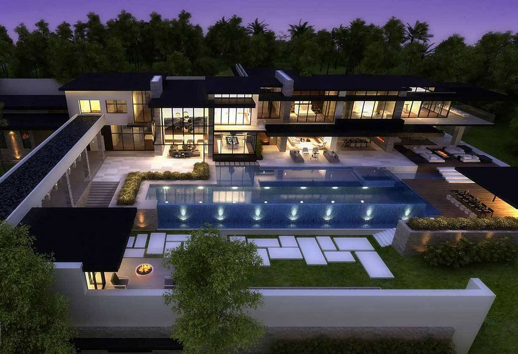 Extraordinary Central America Mansion Concept by Bowery Design Group