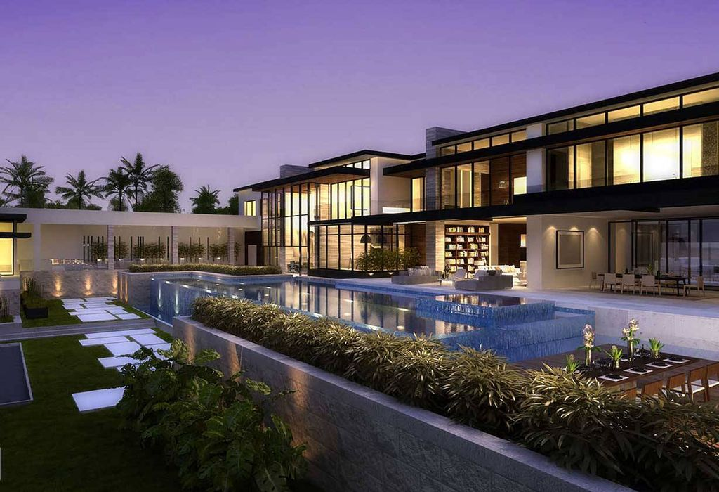 Central America Mansion is a project in Los Angeles, California was designed in concept stage by Bowery Design Group in Modern style, it offers luxurious modern living.
