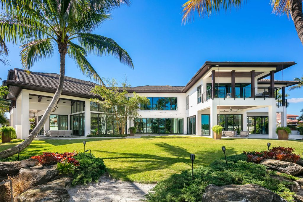 Magnificent Balinese Inspired Contemporary Mansion in Florida asking for $24,995,000