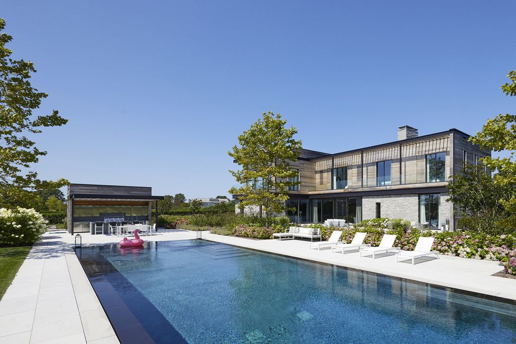 Modern Ocean View Masterpiece built by Jay Bialsky in New York