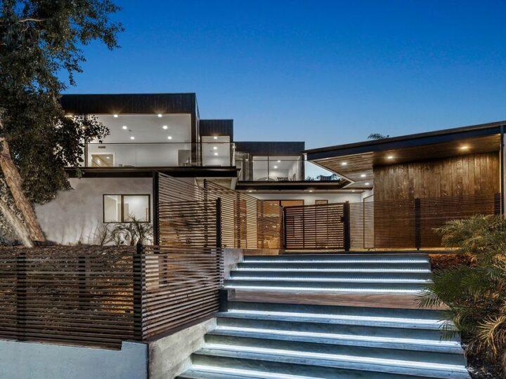 The New Construction Home in Brentwood has been masterfully designed to create intimate environments and spaces now available for sale. This home located at 3023 Elvill Dr, Los Angeles, California; offering 7 bedrooms and 7 bathrooms with over 5,000square feet of living spaces.