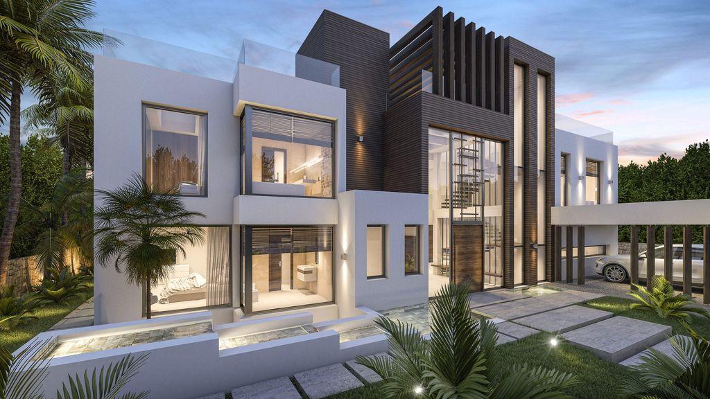 Perfectly Concept Design of Villa Azar in Spain by B8 Architecture and Design Studio