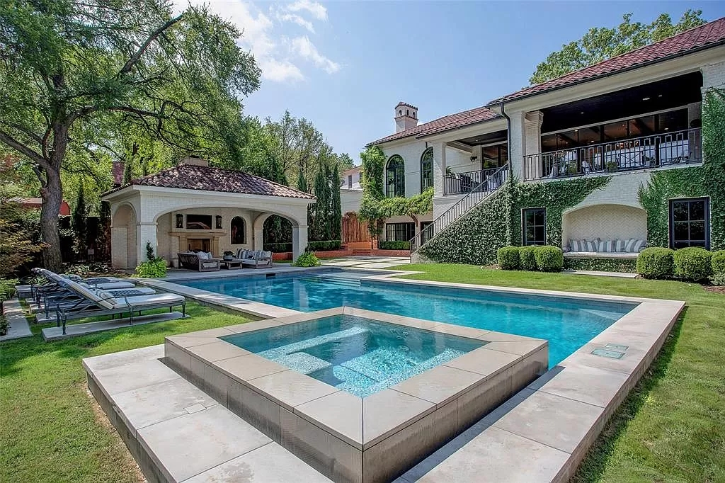 Spectacular Iconic Mediterranean Home with Ultimate Luxury in Texas Asking for $4,600,000