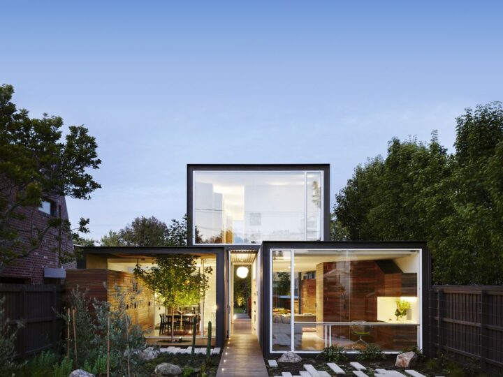 Stylish design of THAT house in Melbourne by Austin Maynard Architects