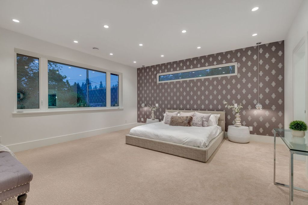 The Mountain View Villa in North Vancouver built by award winning Marble Construction