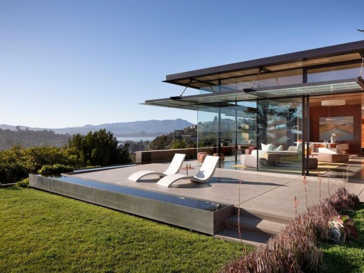 The Home in Tiburon is an incredible work of modern art encompassing approx. 6,960 square feet of living space now available for sale. This home located at 1865 Centro West St, Tiburon, California; offering 5 bedrooms and 6 bathrooms with over 6,900 square feet of living spaces.