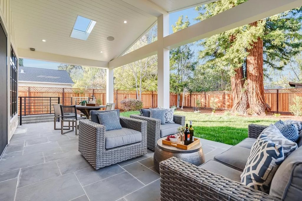 The Menlo Park New Construction Home is a beautiful new, three-story home in the Allied Arts neighborhood now available for sale. This home located at 308 Arbor Rd, Menlo Park, California; offering 5 bedrooms and 5 bathrooms with over 4,000 square feet of living spaces.