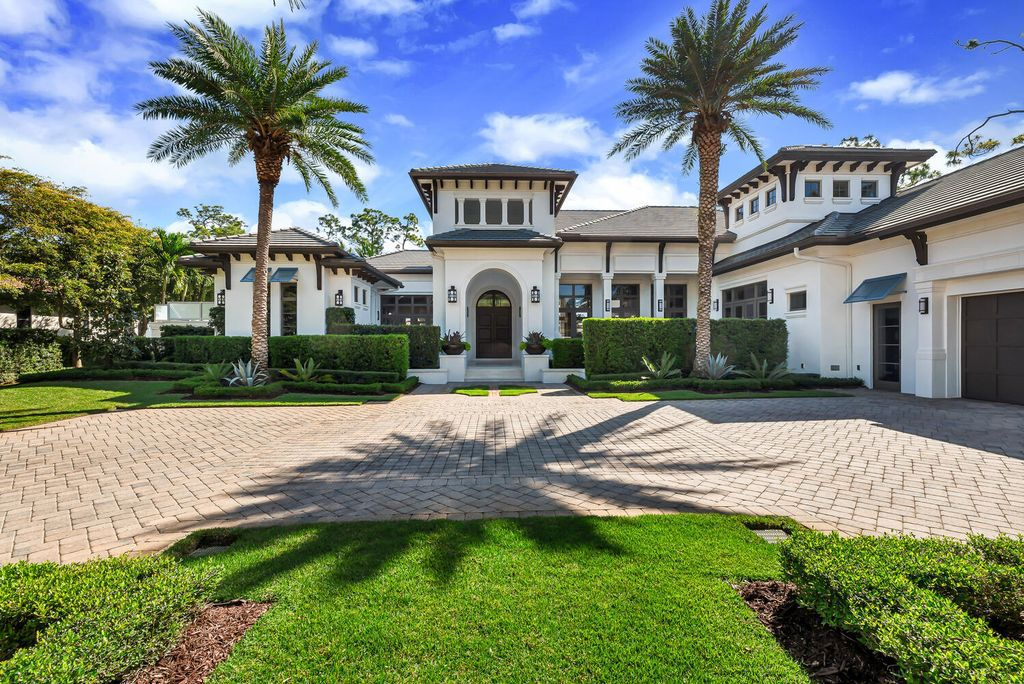 This $5,195,000 Exceptional Naples Home comes with the Simplicity and sophistication