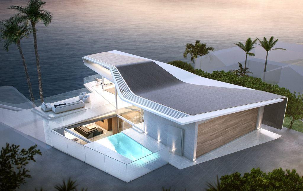 Uniquely Big Rock Estate Design Concept by Coscia Day Architecture & Design