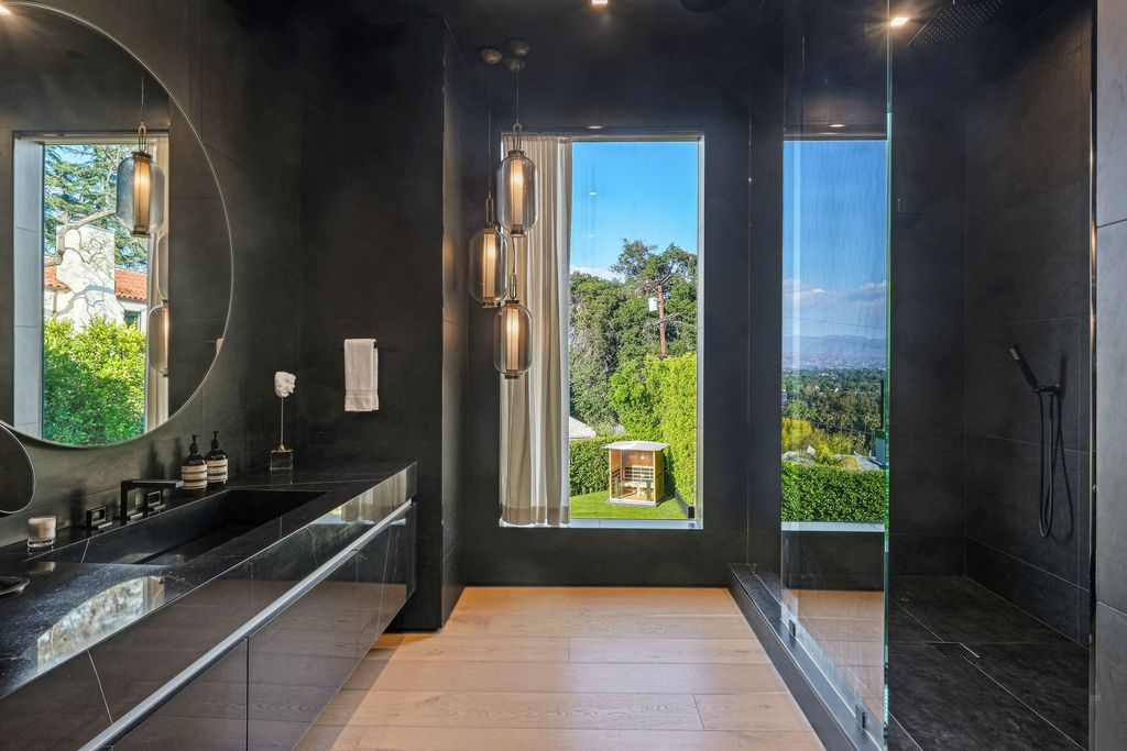 The Architectural Home in Studio City is a custom built masterpiece features panoramic views of the mountains and city lights now available for sale. This home located at 3958 Sunswept Dr, Studio City, California; offering 6 bedrooms and 8 bathrooms with over 6,500 square feet of living spaces.