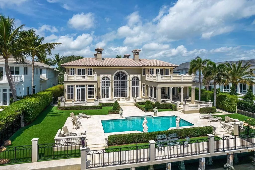 A Majestic Venetian-inspired Home in Boca Raton for Sale at $10,250,000